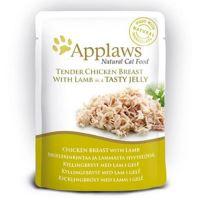 Applaws Kapsička Cat kuřecí prsa a jehněčí v aspiku 70 g