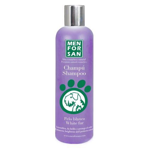 MenForSan Šampon pro zesvětlení bílé srsti 300 ml