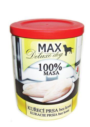 MAX Kuřecí prsa bez kosti 800g