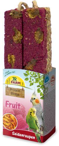 JR Birds Proteinová tyčinka Ovoce-Larvy bource 150 g