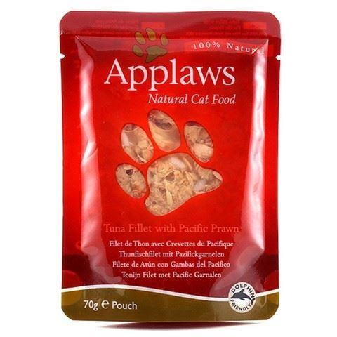 Applaws Kapsička Cat tuňák a tygří krevety 70 g