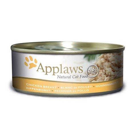 Applaws Konzerva Cat kuřecí prsa 156 g