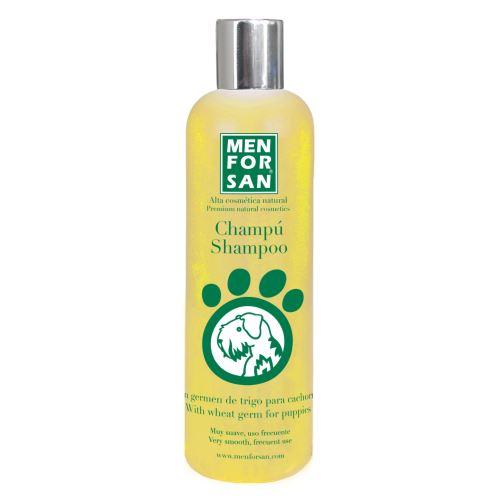 MenForSan Šampon z pšeničných kíčků pro štěňata 300 ml