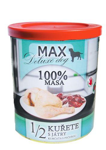 MAX 1/2 kuřete s játry 800g