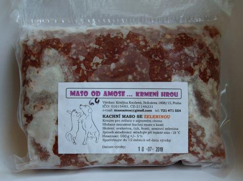 Amos Kachna se zeleninou 500 g