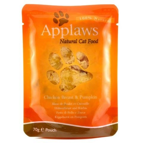 Applaws Kapsička Cat kuřecí prsa a dýně 70 g