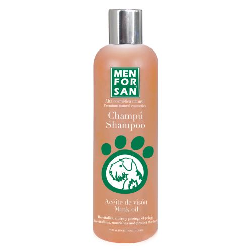 MenForSan Ochranný šampon s norkovým olejem  300 ml