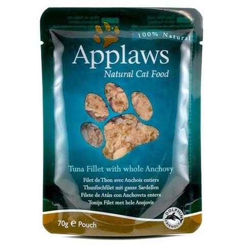 Applaws Kapsička Cat tuňák a celé ančovičky 70 g