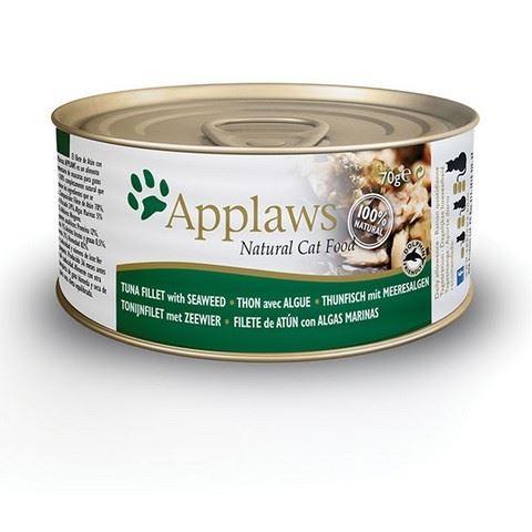Applaws Konzerva Cat tuňák a mořské řasy 70 g