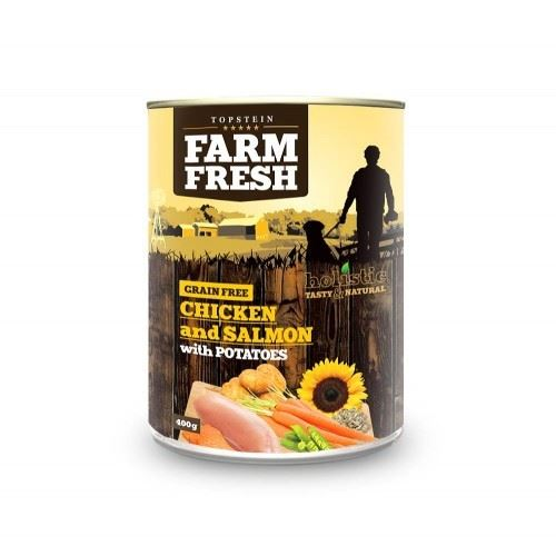 Farm Fresh Chicken and Salmon with Potatoes 400g