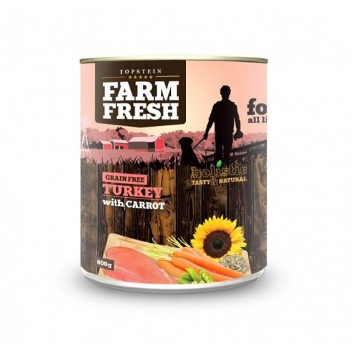 Farm Fresh Turkey with Carrots 800g