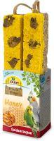 JR Birds Proteinová tyčinka Med-Larvy bource 150 g