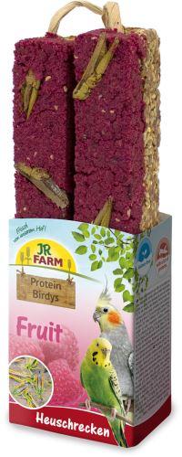 JR Birds Proteinová tyčinka Ovoce-Kobylky 150 g
