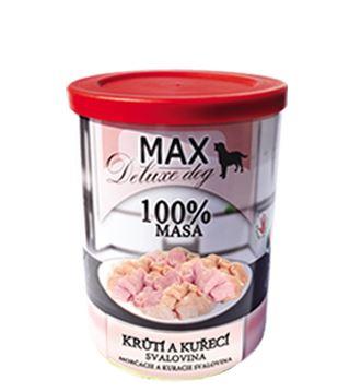 MAX Krůtí a kuřecí svalovina 400g