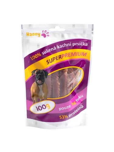 Hanny Food Kachní prsíčka 100 g