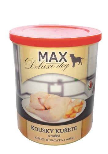 MAX Kousky kuřete s mrkví 800g