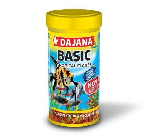 Dajana Tropical Basic flakes 250 ml