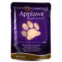 Applaws Kapsička Cat kuřecí prsa a divoká rýže 70 g