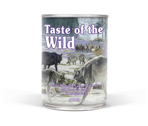 Taste of the Wild Konzerva Sierra Mountain 390 g