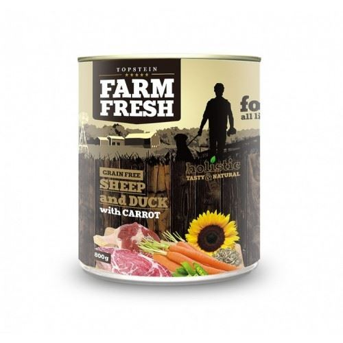 Farm Fresh Sheep and Duck with Carrot 800g
