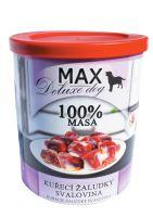 MAX Kuřecí žaludky - svalovina 800g