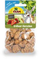 JR Farm Jahodová srdíčka 150 g