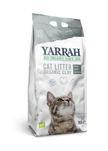 Yarrah BIO Organické stelivo pro kočky 7 kg