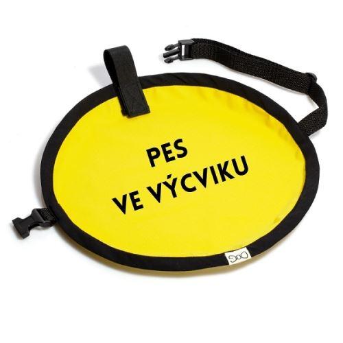 Funky Dog Žlutá signální vesta PES VE VÝCVIKU