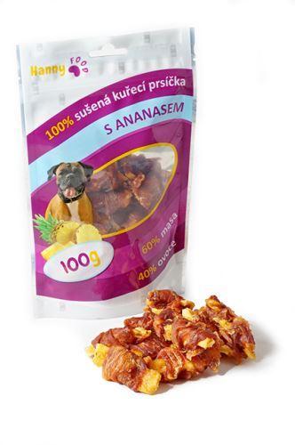 Hanny Food Kuřecí prsíčka s ananasem 100 g