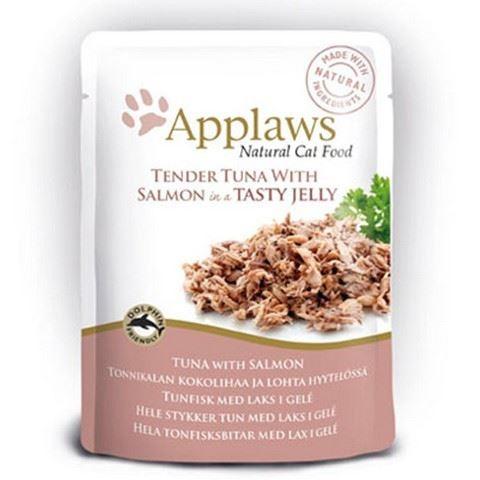 Applaws Kapsička Cat tuňák a losos v aspiku 70 g