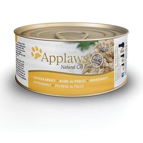 Applaws Konzerva Cat kuřecí prsa 70 g