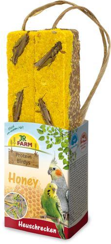 JR Birds Proteinová tyčinka Med-Kobylky 150 g