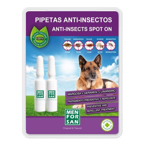 MenForSan Antiparazitní pipeta pro psy 2 ks