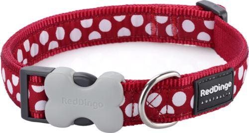 Obojek RD White Spots on Red