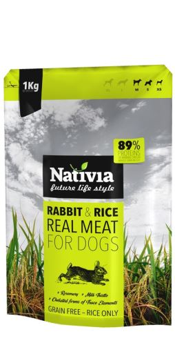 Nativia Real Meat Rabbit 1 kg